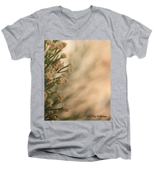 Softness In The Desert Men's V-Neck T-Shirt