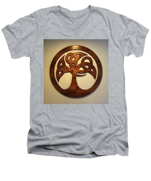 Sol Tree Men's V-Neck T-Shirt