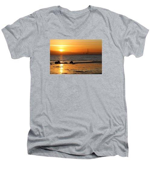 Solar Gold Men's V-Neck T-Shirt