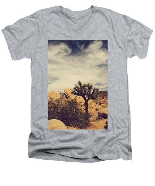 Solitary Man Men's V-Neck T-Shirt
