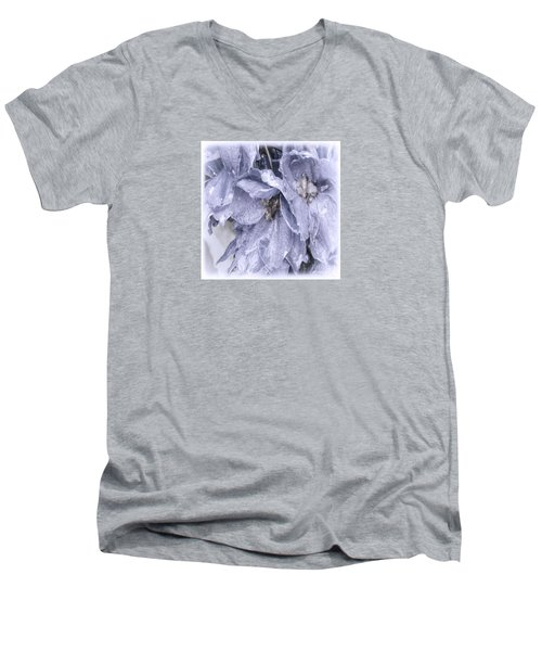 Solomons Proverbs Men's V-Neck T-Shirt by Jean OKeeffe Macro Abundance Art