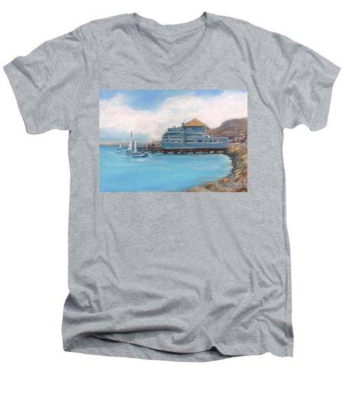 Soma's Restaurant  Men's V-Neck T-Shirt