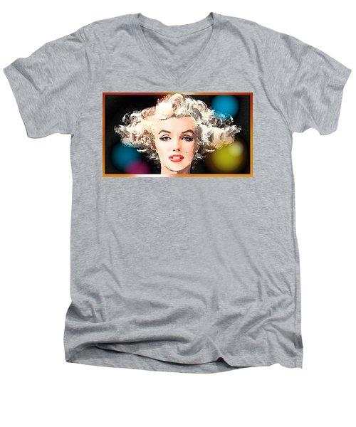 Marilyn - Some Like It Hot Men's V-Neck T-Shirt