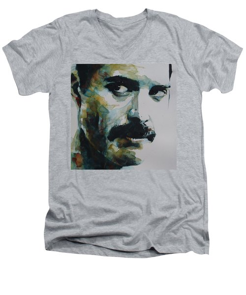 Freddie Mercury Men's V-Neck T-Shirt