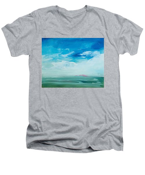 Somewhere Beyond The Sea Men's V-Neck T-Shirt