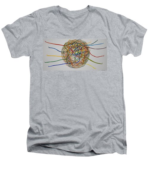 Soul Journey 1 Men's V-Neck T-Shirt