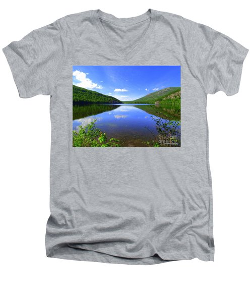 South Branch Pond Men's V-Neck T-Shirt