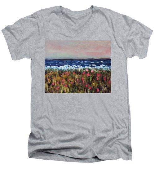 South Cape Beach Sunset Men's V-Neck T-Shirt