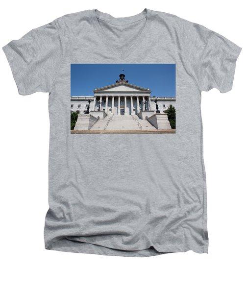 South Carolina State Capital Building Men's V-Neck T-Shirt