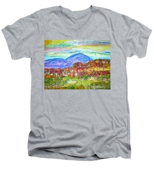 South Mesa Freestyle Men's V-Neck T-Shirt