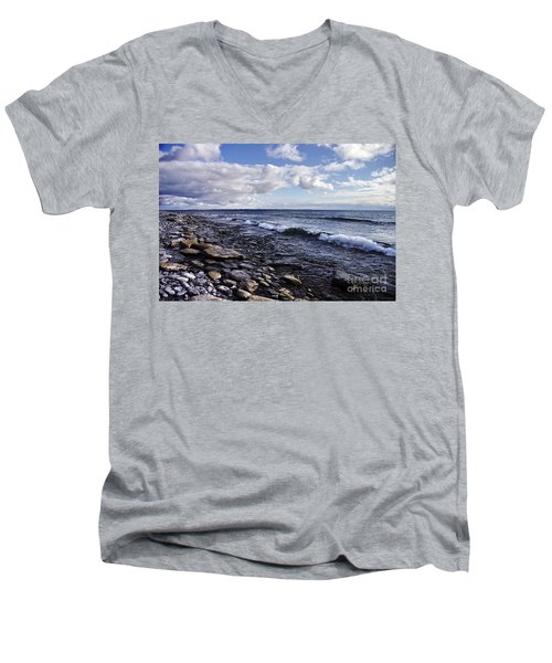 South Shore Amherst Island Men's V-Neck T-Shirt