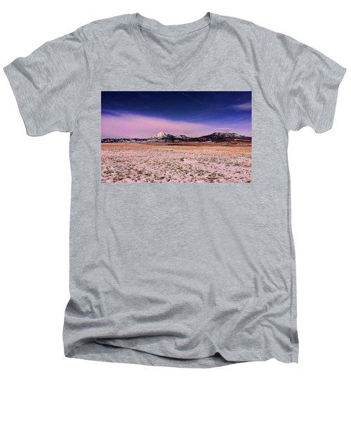 Southern Colorado Mountains Men's V-Neck T-Shirt