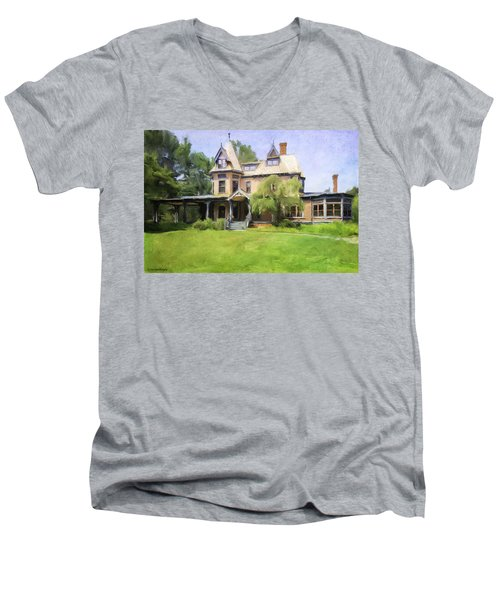 Southport Victorian Men's V-Neck T-Shirt
