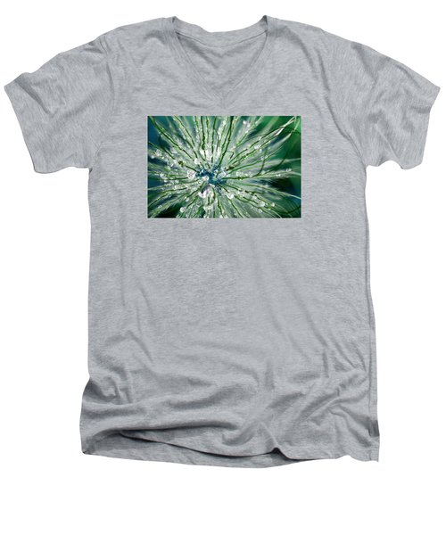 Men's V-Neck T-Shirt featuring the photograph Wonders Of Nature by Dreamland Media