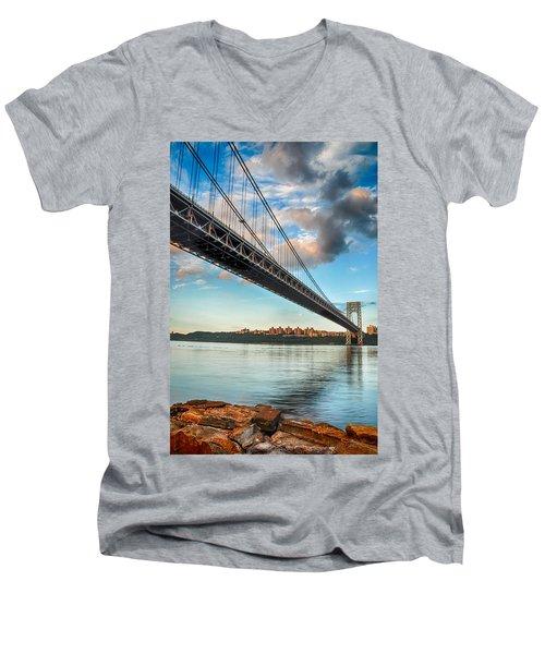 Span Men's V-Neck T-Shirt