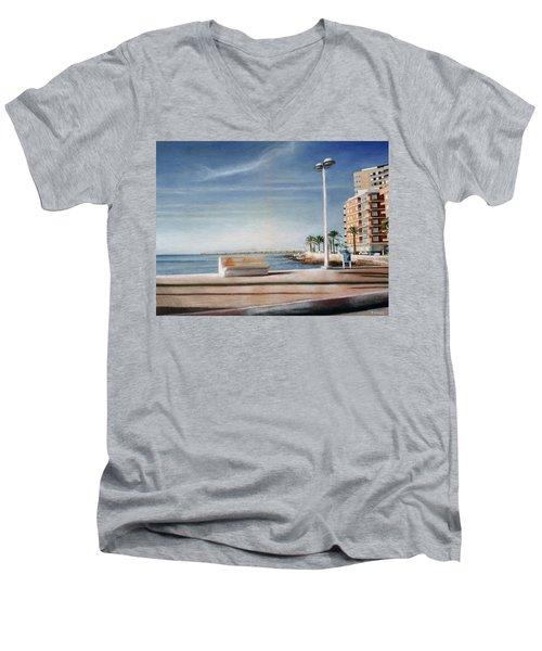 Spanish Coast Men's V-Neck T-Shirt