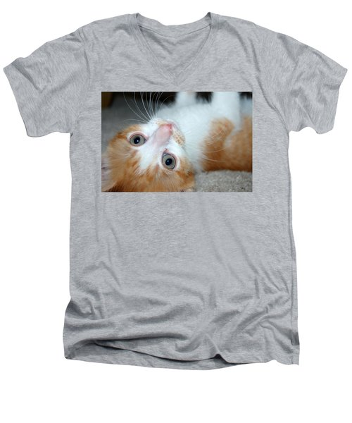Spankie Men's V-Neck T-Shirt