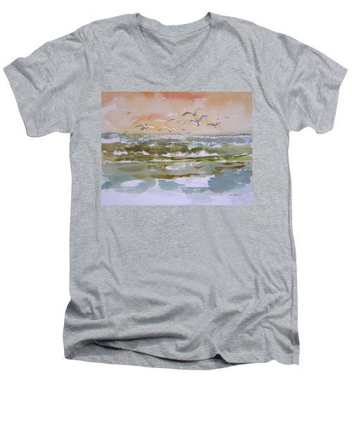 Sparkling Surf Men's V-Neck T-Shirt