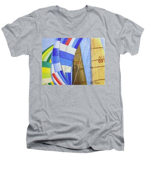 Spinnakers Men's V-Neck T-Shirt