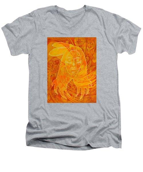 Spirit Fire Men's V-Neck T-Shirt