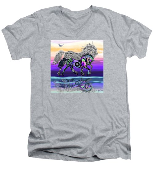 Spirit Horse Men's V-Neck T-Shirt