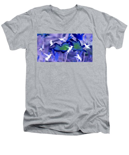 Spirit Of The Humming Bird Men's V-Neck T-Shirt