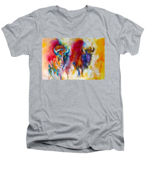 Spirit Quest Men's V-Neck T-Shirt