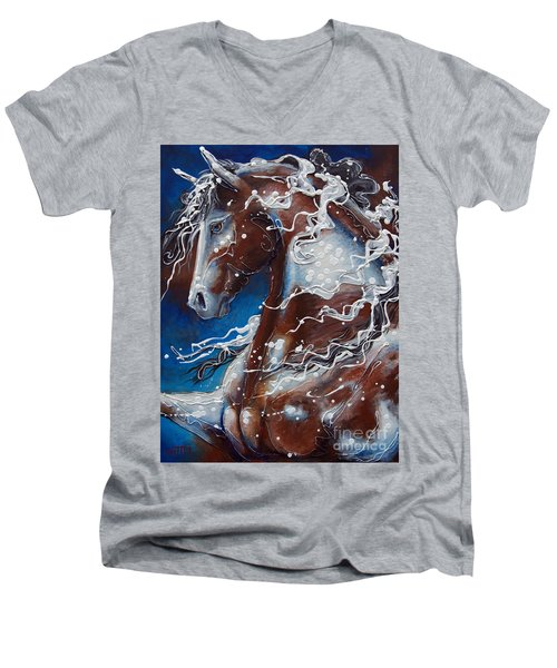 Splish Splashed My Paint Men's V-Neck T-Shirt
