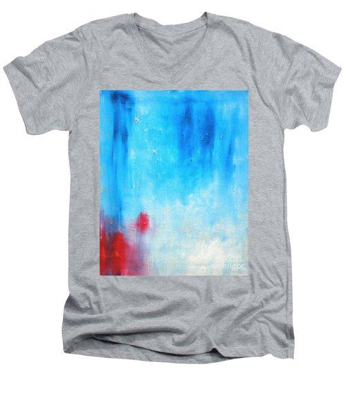 Spot Men's V-Neck T-Shirt