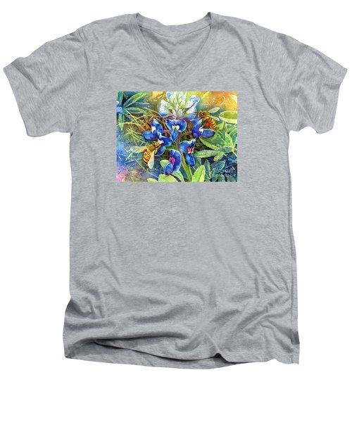 Spring Breeze Men's V-Neck T-Shirt