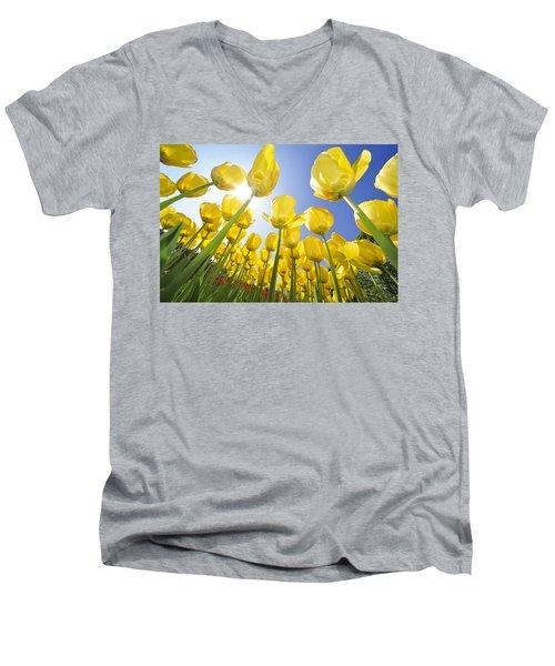 Spring Flowers 5 Men's V-Neck T-Shirt