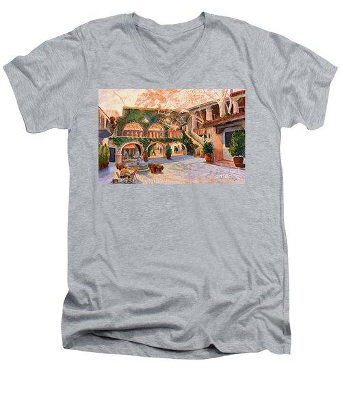 Spring In Tlaquepaque Men's V-Neck T-Shirt