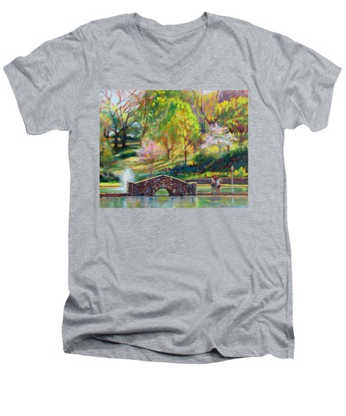 Spring Morning Men's V-Neck T-Shirt