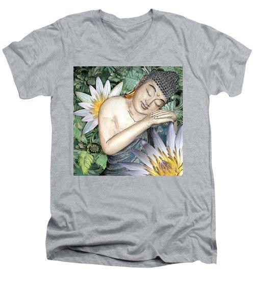 Spring Serenity Men's V-Neck T-Shirt