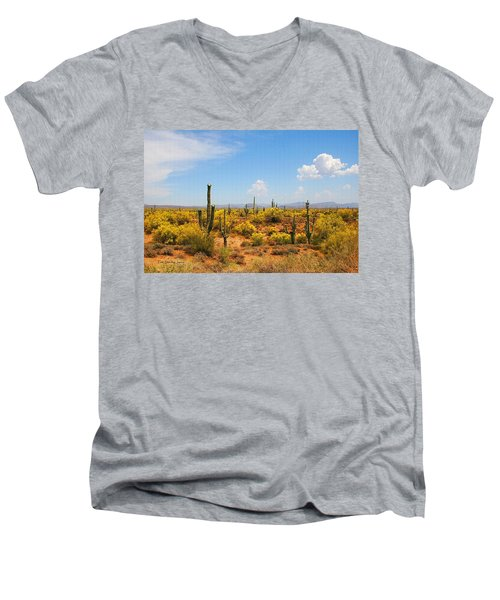 Spring Time On The Rolls - Arizona. Men's V-Neck T-Shirt