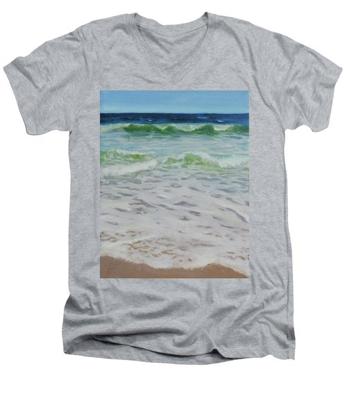 Spring Wave Men's V-Neck T-Shirt