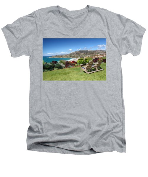Springtime At Salt Creek Beach Men's V-Neck T-Shirt