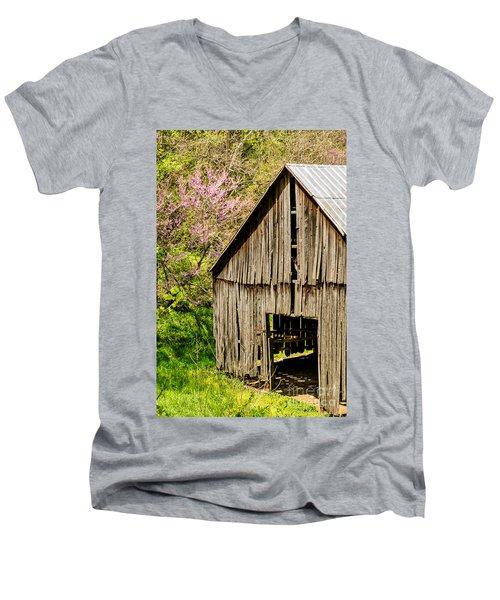 Springtime In Kentucky Men's V-Neck T-Shirt