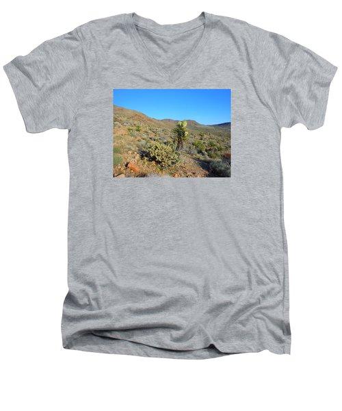 Springtime In The Cerbat Mountain Foothills Men's V-Neck T-Shirt