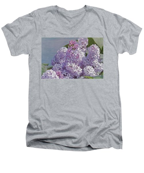 Springtime Lilacs Men's V-Neck T-Shirt