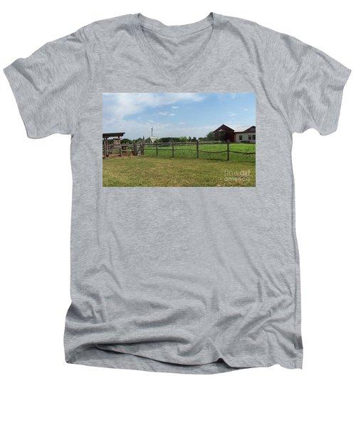 Springtime Serenity Men's V-Neck T-Shirt by Susan Williams