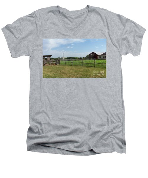 Springtime Serenity Men's V-Neck T-Shirt