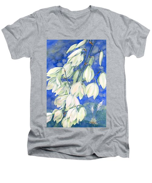 Springtime Splendor Men's V-Neck T-Shirt