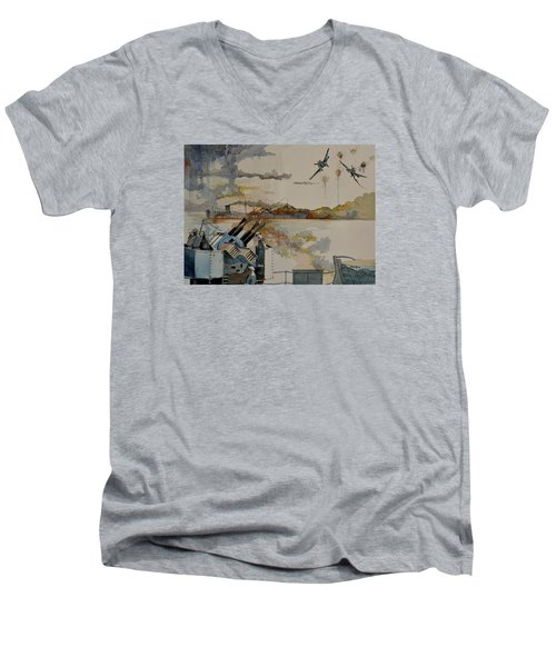 Ss Ohio II Men's V-Neck T-Shirt