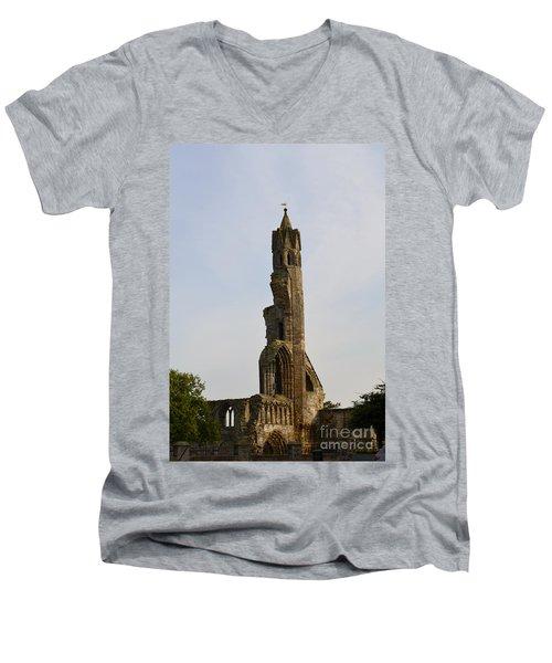 St Andrew's Cathedral Ruins Men's V-Neck T-Shirt