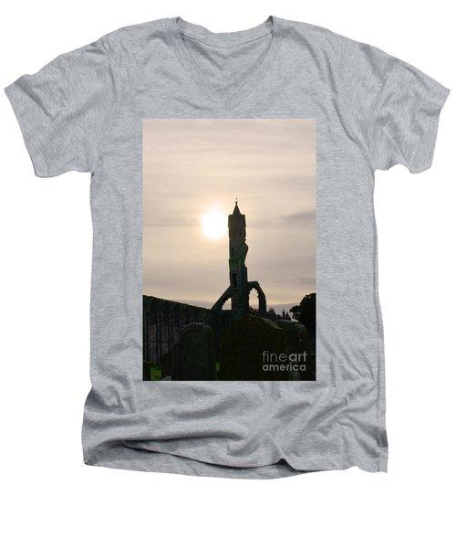 St Andrews Scotland At Dusk Men's V-Neck T-Shirt