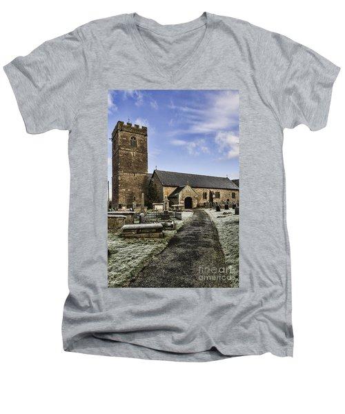 St Gwendolines Church Talgarth 4 Men's V-Neck T-Shirt