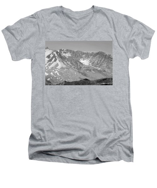 St. Helen's Crater Men's V-Neck T-Shirt