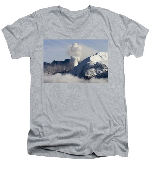 St Helens Rumble Men's V-Neck T-Shirt by Wes and Dotty Weber
