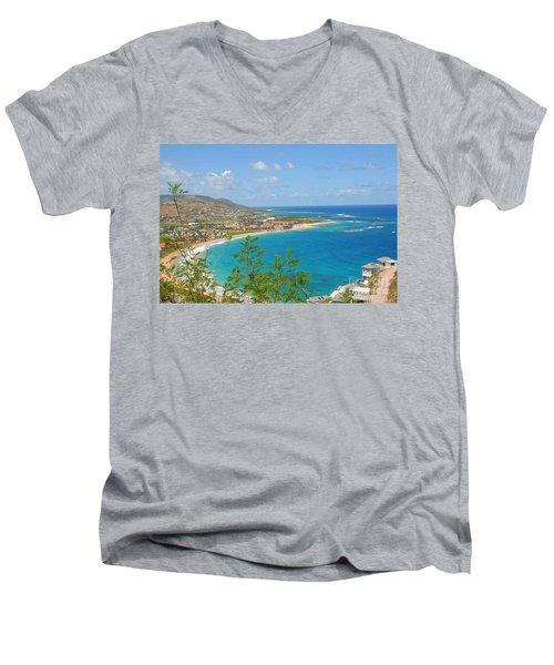 St. Kitts Men's V-Neck T-Shirt